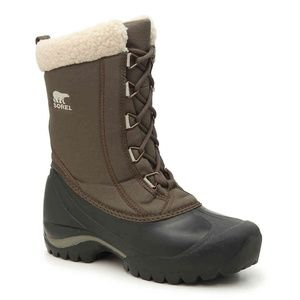 SOREL Cumberland Snow Boots Insulated Brown Winter